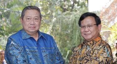 SBY Tak Usulkan Nama Cawapres dari Demokrat, Namun Ada Pesan yang Ditekankannya ke Prabowo
