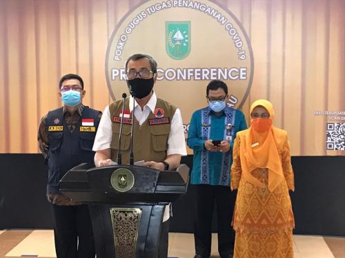 426 Kasus Covid-19 Riau, 5 Orang Isolasi Mandiri, 104 Dirawat di RS, 305 Sembuh dan 12 Meninggal Dunia