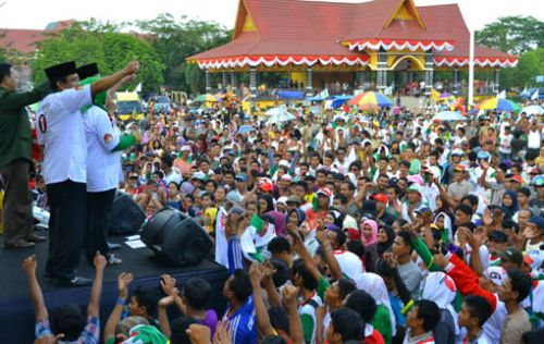 Herman-Agus Janji Pembangunan Adil dan Merata di Kuansing