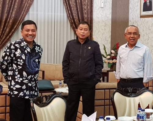 Berikut Agenda Menteri ESDM di Rupat Utara Bengkalis Hingga Siang Ini