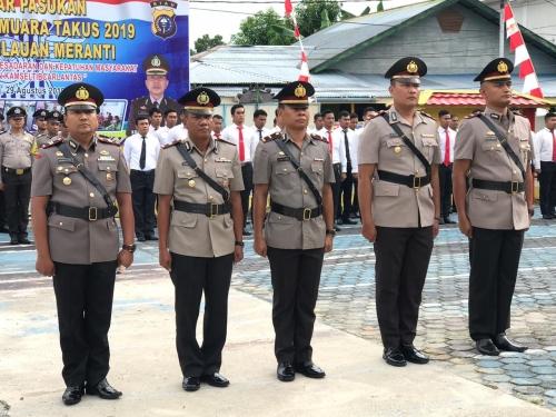 Lima Perwira Polres Kepulauan Meranti Disertijab