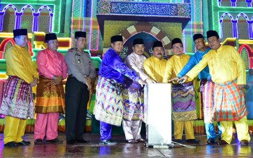 Helat MTQ Kabupaten Bengkalis di Mandau Sukses, Ketua DPRD Apresiasi