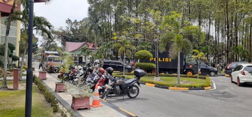 Amankan Unjuk Rasa, 1.250 Personil Gabungan Disiagakan di DPRD Riau