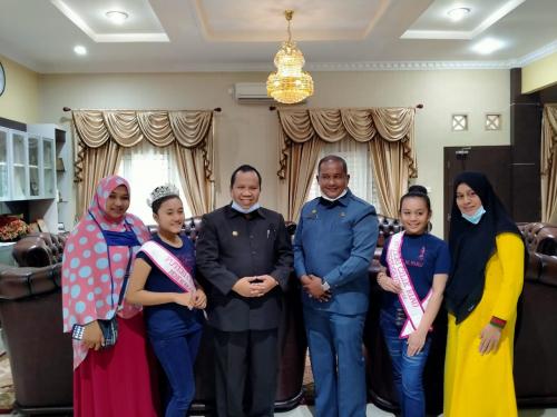 Mewakili Riau, Putri Cilik Kepulauan Meranti Ikuti Ajang Model Nasional 2020