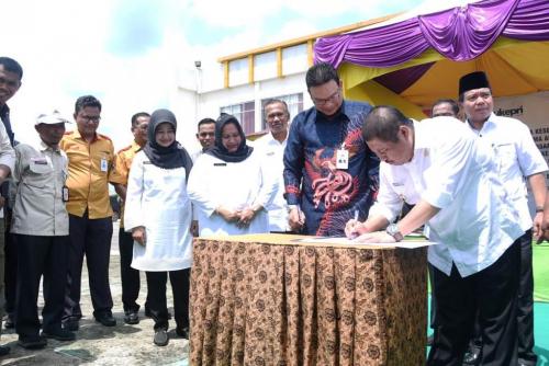 Pemkab Bengkalis-Bank Riau Kepri Teken MoU Layanan Pajak Online