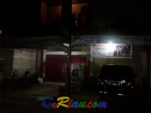 Mencekam, Saat Romli HMI Asal Makassar Melintas di Inhu, Pengusaha Rumah Makan dan PKL Memilih Tutup