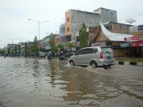 Meski Sering Dilanda Banjir, Dumai Belum Tetapkan Status Siaga