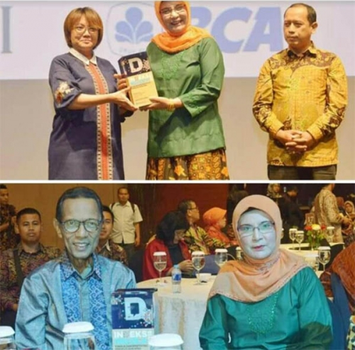 Kampar Terima Penghargaan Sebagai Daerah dengan Ketepatan Alokasi APBD Pendidikan Terbaik 2018