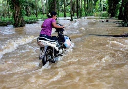 Banjir yang Rendam Ribuan Rumah di 8 Kecamatan di Inhu Mulai Surut, Warga Diminta Tetap Waspada