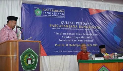 STIE Bangkinang Buka Program Pasca Sarjana Magister Manajemen