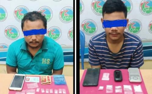 Tangkap Bandar dan Pengedar, Polisi di Pelalawan Dapati Sabu Disembunyikan dalam Gulungan Sarung