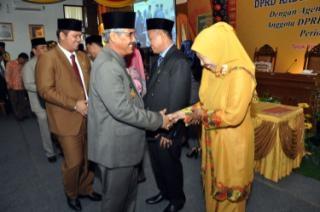 Masran Ali dan Fitri Pita Bergabung di DPRD Kuansing, Sukarmis: Menambah Spirit Demokrasi