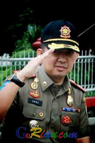 Kasatpol PP Pekanbaru, Berharap Tahun 2016 Pemerintah dan Masyarakat Sama-sama Patuh dengan Peraturan Daerah