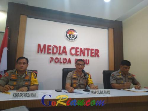 Selama Tahun 2019, Polda Riau Ungkap 1.817 Kasus Narkoba dengan 2.496 Tersangka