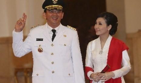 Saat Ahok dalam Penjara, Adiknya Lihat Veronica Tan Bertemu Julianto di Singapura