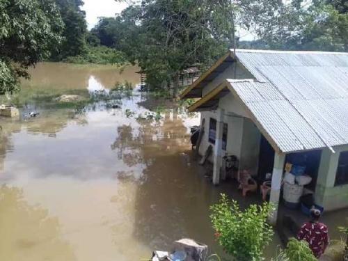 Banjir Ketiga Kalinya Dalam 2 Bulan di Gunung Sahilan dan Sahilan Darussalam