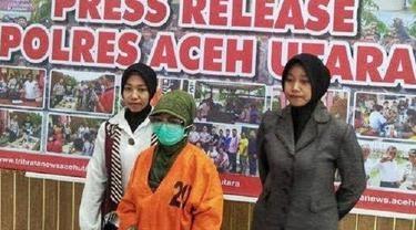 Idap Kelainan Seks, Wanita Dewasa di Aceh Utara Cabuli 5 Bocah, Begini Ketahuannya