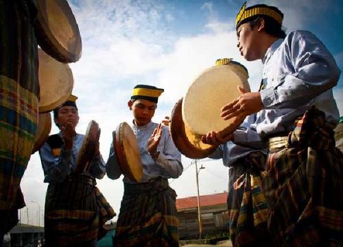 Dumai Siap Pecahkan Rekor 3.000 Kompang