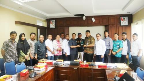 Pertanyakan Alokasi Anggaran, Komisi II DPRD Kepulauan Meranti Konsultasi ke Bappeda Litbang Riau