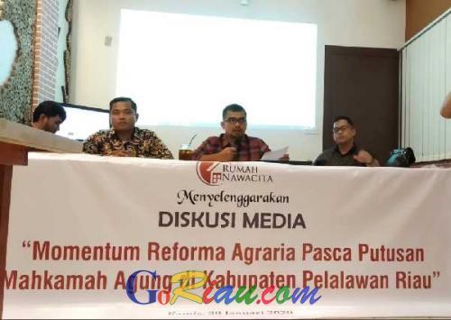 Rumah Nawacita Harapkan Pemerintah Beri Solusi Konkret untuk Masyarakat Desa Gondai yang Terkena Dampak Eksekusi Lahan PT PSJ