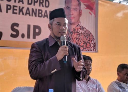 Jika Pekanbaru Lockdown, Ketua DPRD Minta Harus Ada Kepastian dan Bantuan Pangan