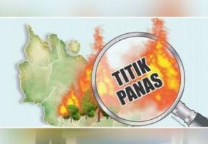 Dua Titik Api Terdeteksi di Bengkalis