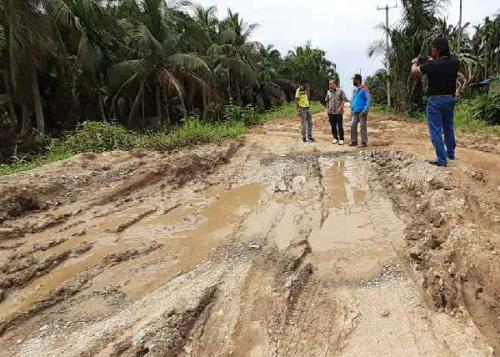 Pengerjaan Ruas Jalan Kuala Keritang Tunggu Eksekusi
