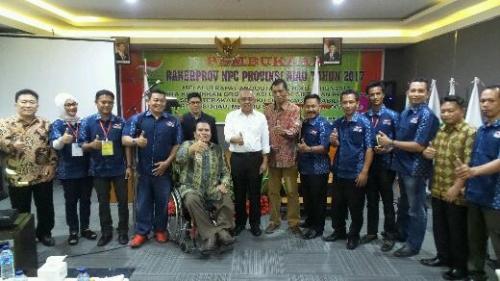 Lahirkan Atlet-atlet Difabel Terbaik, Andi Rachman Akui Pengprov NPC Riau Organisasi Olahraga yang Disiplin