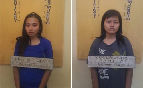 Dua Gadis Begal Ditangkap Polisi, Begini Modusnya Merampas Motor Korban