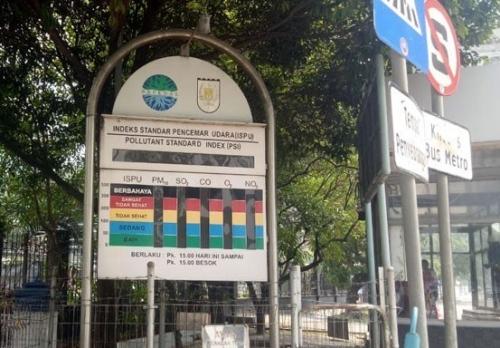 DPRD Riau Minta Alat ISPU di Depan Kantor Walikota yang Rusak Segera Diperbaiki