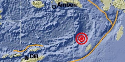 Dua Gempa Berkekuatan 5,7 dan 6,2 SR Guncang Ambon dalam Waktu 19 Menit
