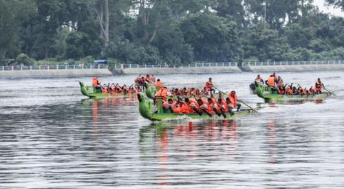 Sebanyak 45 Peserta Siak Internasional Serindit Boat III akan Bertarung dengan Arus Deras Sungai Terdalam