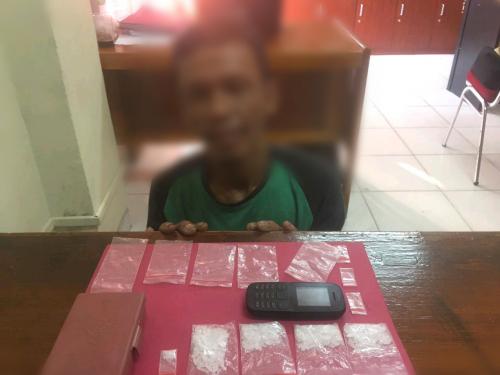 Simpan Sabu di Rumah Sebanyak 18.25 Gram, Warga Maredan Siak Langsung Diciduk Polisi