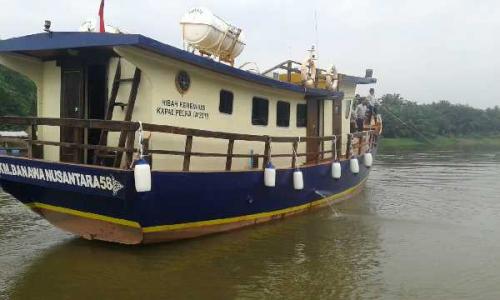 Untuk Menunjang Kepariwisataan, Kemenhub RI Hibahkan Kapal ke Pemkab Kampar