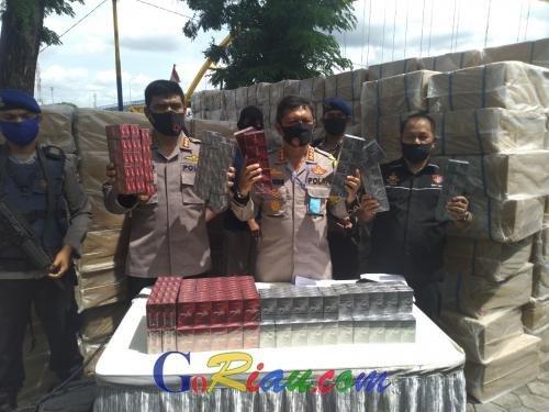 GoRiau Ekspos penangkapan ribuan kota