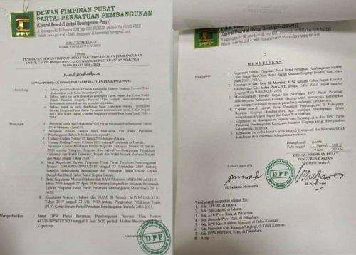GoRiau SK PPP untuk Mursini - Indra P