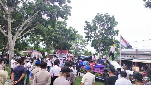 GoRiau Massa saat berada di depan Kan