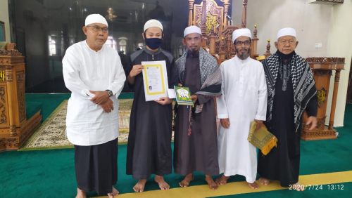GoRiau Foto bersama usai pengucapan k