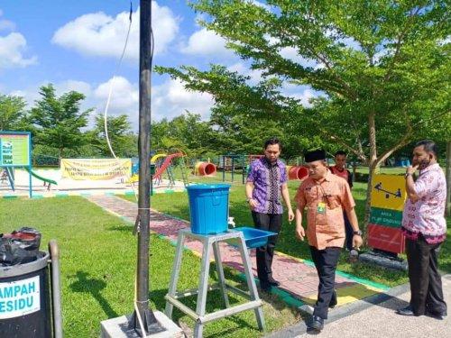 GoRiau Di taman bermain anak dekat Tu