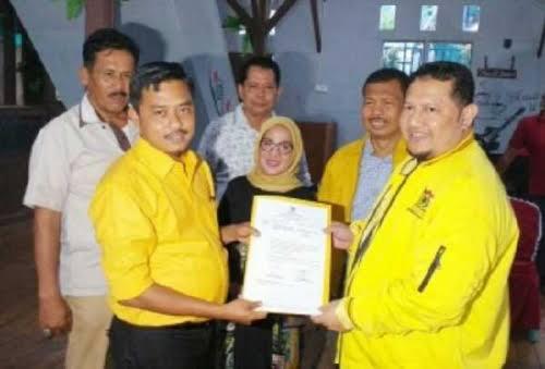 GoRiau Dukungan Golkar kepada Maryeni